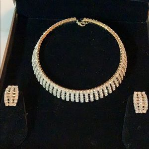 SUHASINI Designer necklace & earrings. New.